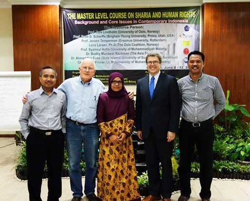 Image for Professor Scharffs: Two Indonesia Programs on Sharia and Human Rights - June 2015