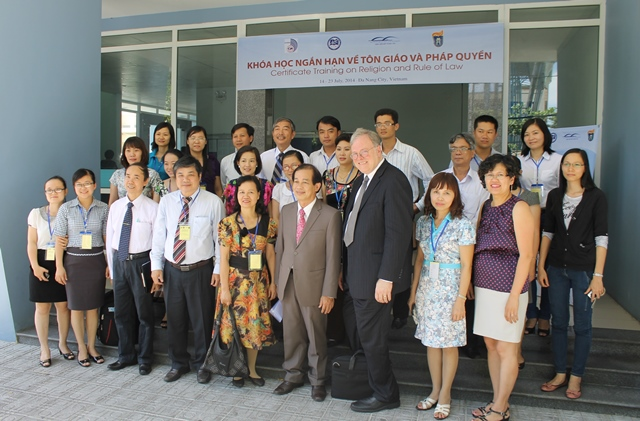 Image for Third Certificate Training Program on Religion and the Rule of Law in Vietnam
