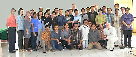 Image for Professors Cole Durham and Tore Lindholm Assist in Human Rights Advocates Training, Yogyakarta, Indonesia, 9-15 August 2009