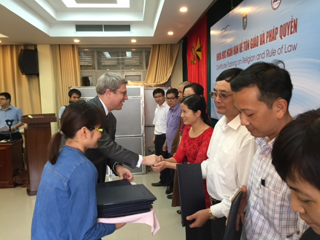 Image for Fourth Certificate Training in Vietnam: Religion and the Rule of Law
