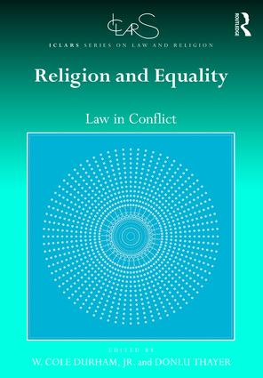 Image for Work Edited by Durham and Thayer Launches ICLARS Series on Law and Religion