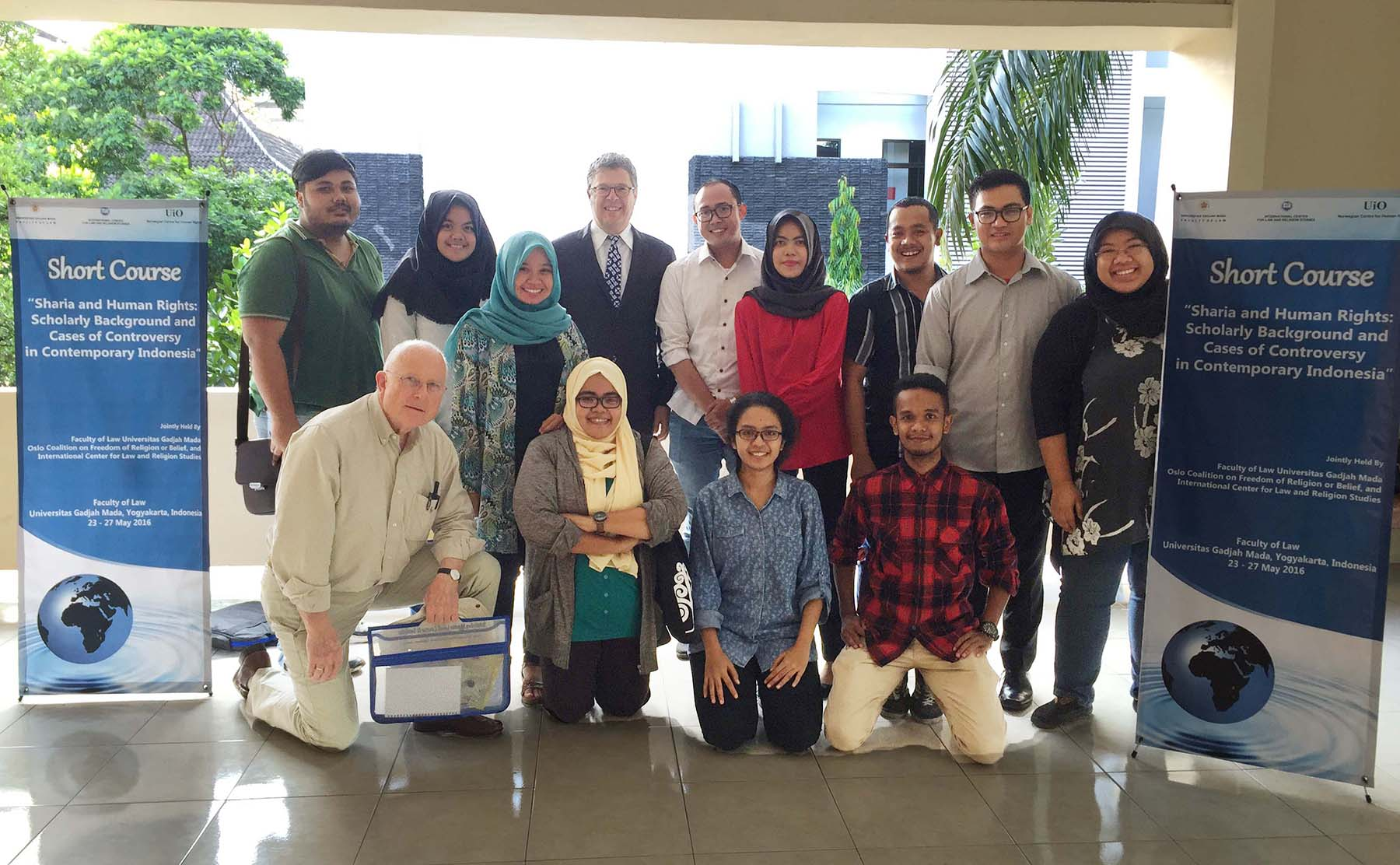 Image for Brett Scharffs at Third Yogyakarta Short Course on Sharia and Human Rights - May 2016