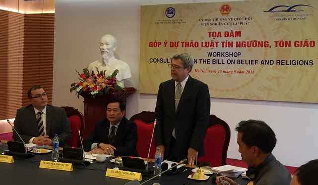 Image for Vietnam National Assembly Workshop on the Proposed Law on Belief and Religions