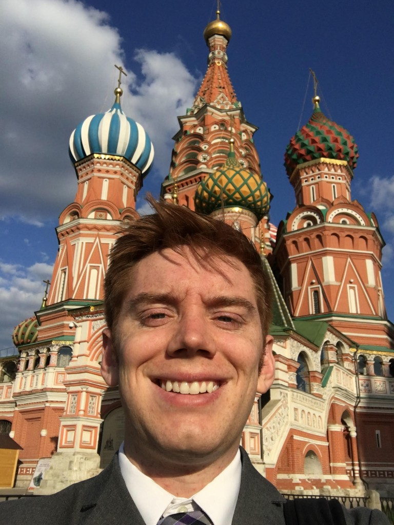 Image for ICLRS Student Fellow Joshua Prince, Externship in Moscow, Russia
