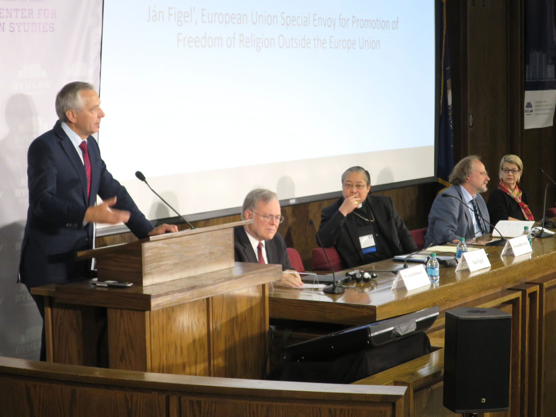 Image for 2016 Symposium: Third Plenary Session - International Protection of Religious Rights