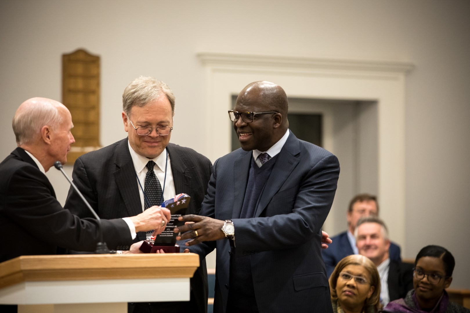 Image for Dr. Ganoune Diop Receives Thomas L. Kane Religious Freedom Award