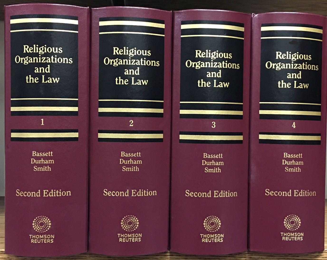 Image for <em>Religious Organizations and the Law </em> ('the Treatise')
