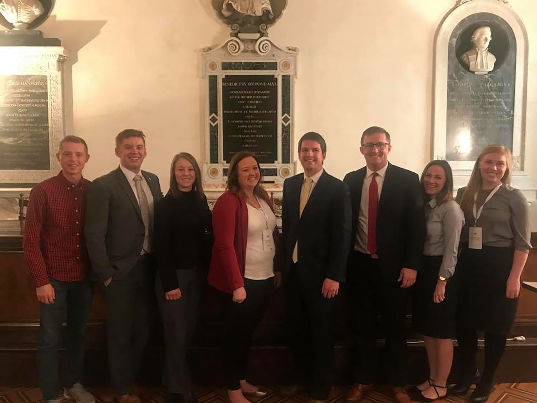 Image for BYU Law Students Compete at Moot Court Competition in Italy