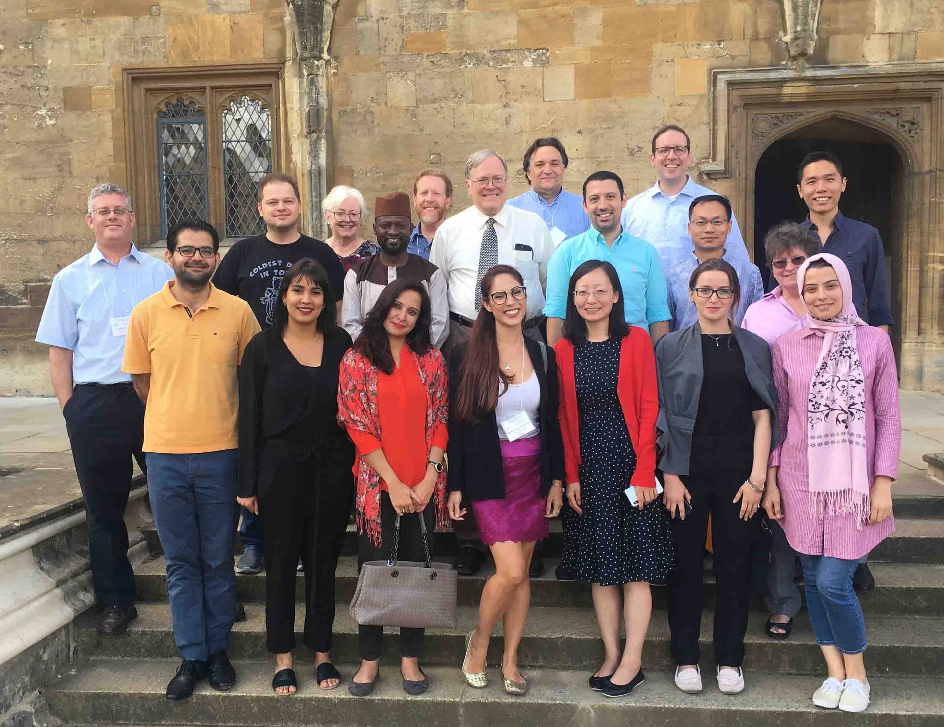 Image for ICLRS Young Scholars Fellowship Program held in Oxford,  July-August 2018