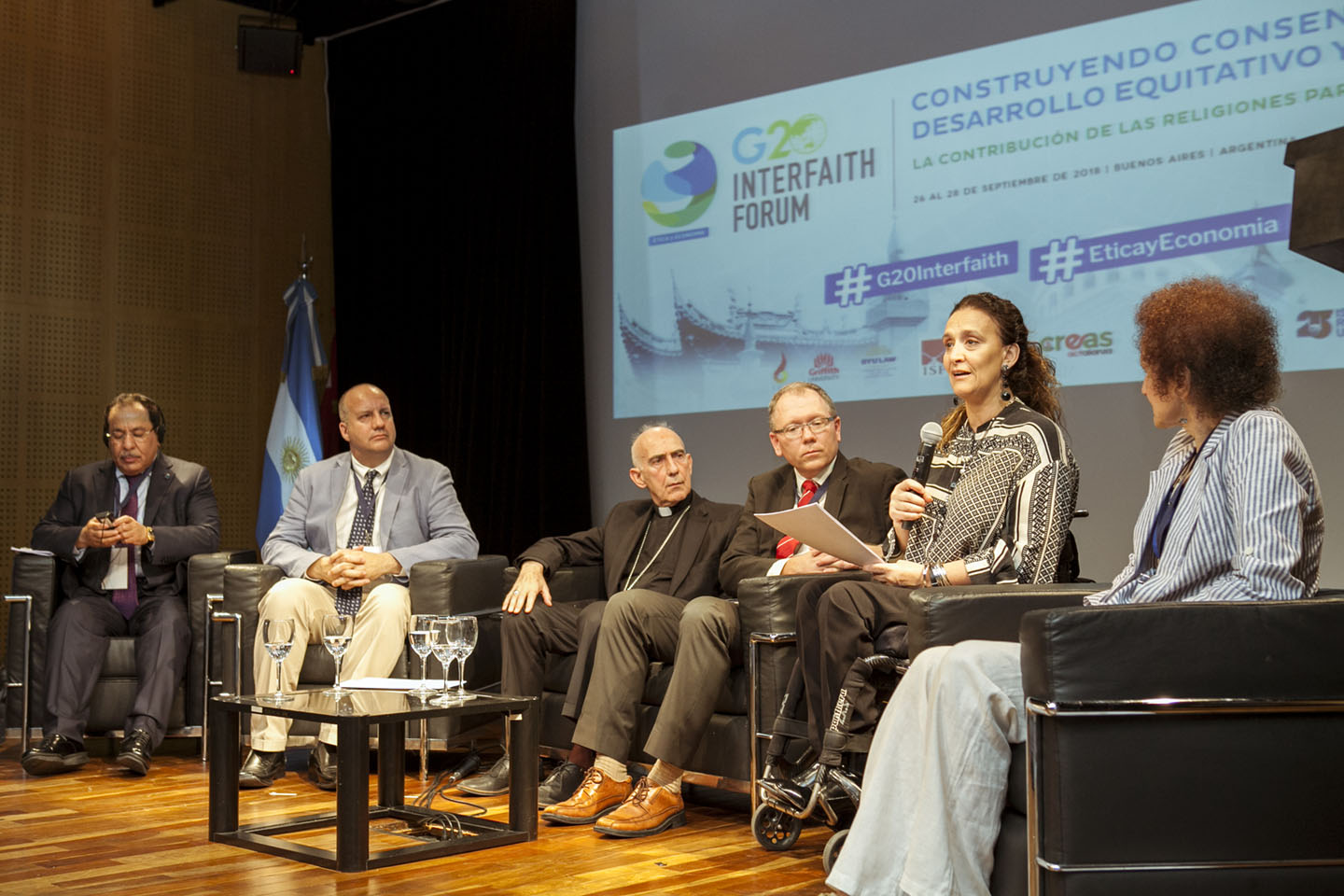 Image for ICLRS at the G20 Interfaith Forum 2018 in Argentina: 'Building Consensus for Fair and Sustainable Development: Religious Contributions for a Dignified Future'