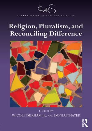 Image for Durham and Thayer: Religion, Pluralism, and Reconciling Difference