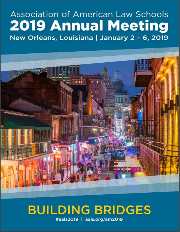 Image for Brett Scharffs participates in panel at 2019 AALS Annual Meeting